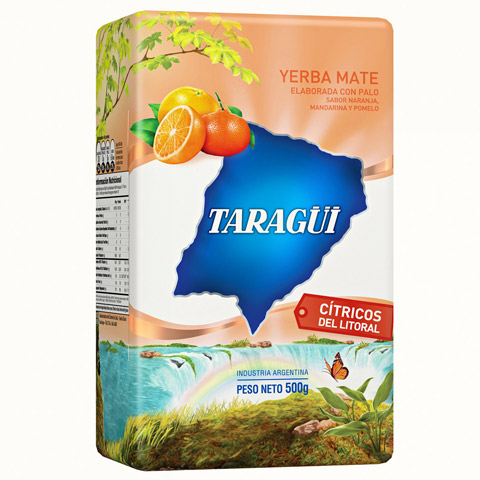 Taragüi Yerba Mate Citrus fruits from the littoral